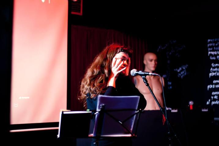 Festival Kerouac de Poesía y Performance (Vigo). Foto de Bernard Betancourt